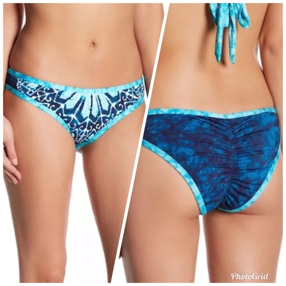 1523375712f Lucky Brand Swim | Batik Chic Bikini Bottoms Med | Poshmark